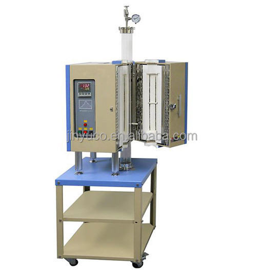 CE Certification CVD sistem high temperature laboratory Vacuum rotary tube furnace