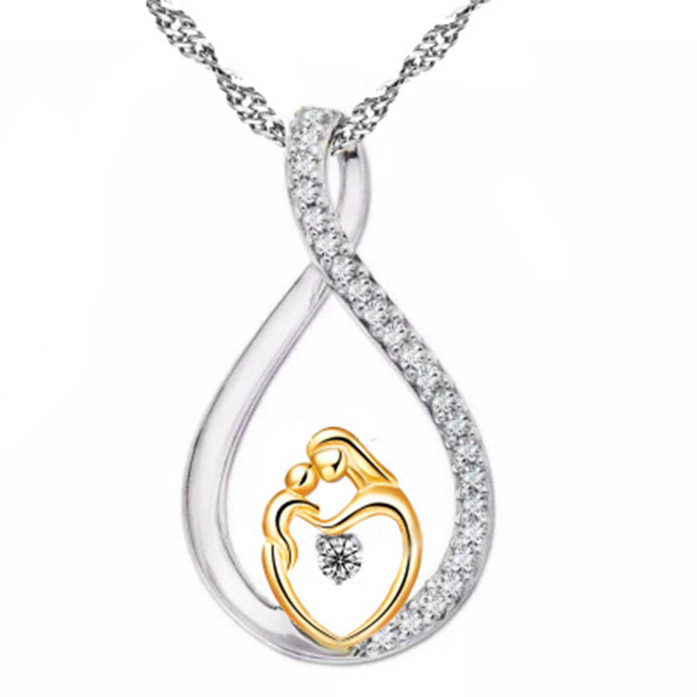 Wholesale Moms Jewelry Birthday Gift For Mother Baby Heart