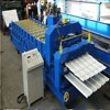 roof panel step tile roll forming machine price double layer steel wall sheet roller machine