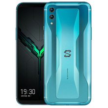 "Schwarz Shark <span class=keywords><strong>2</strong></span> 8GB 256GB Gaming Handy Snapdragon 855 6,39 ""48MP 19,5: 9 volle Bildschirm Octa Core Smartphone BlackShar"