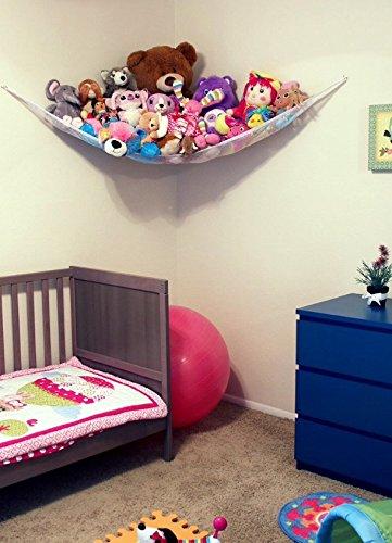 Get Quotations · Hammock Net Toy Organizer, Jumbo Storage For Stuffed  Animals, Lego Storage, Kidu0027s Room