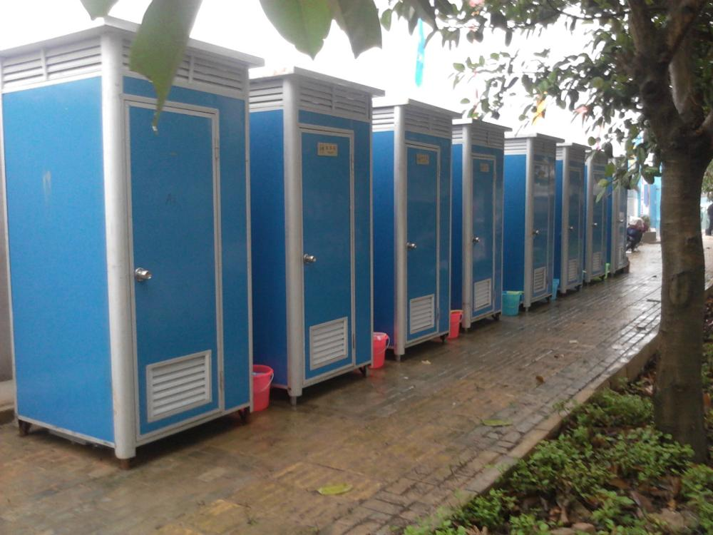 Flat Pack Portable Toilet Shower Room Camping Toilet Portable With Durable Quality
