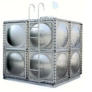 Manufacturer directly supply Stainless steel square water tank with high quality