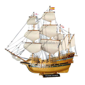 Historical Tall Ship ModelquotSpanish Galleonquot Sailboat Modelsailing Boat
