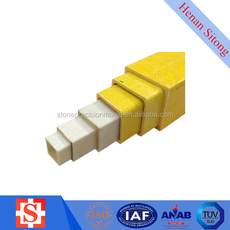 Square Tube FRP Pultrusion Profile