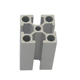 Industrial aluminum profile and t-slot aluminum extrusion in alibaba china
