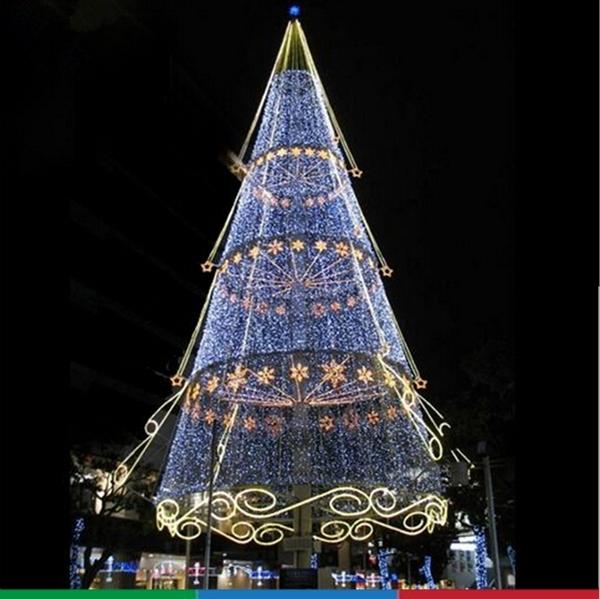 Giant Garden Ridge Christmas Trees