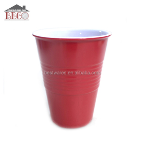 food grade red solo home party using melamine kids cup
