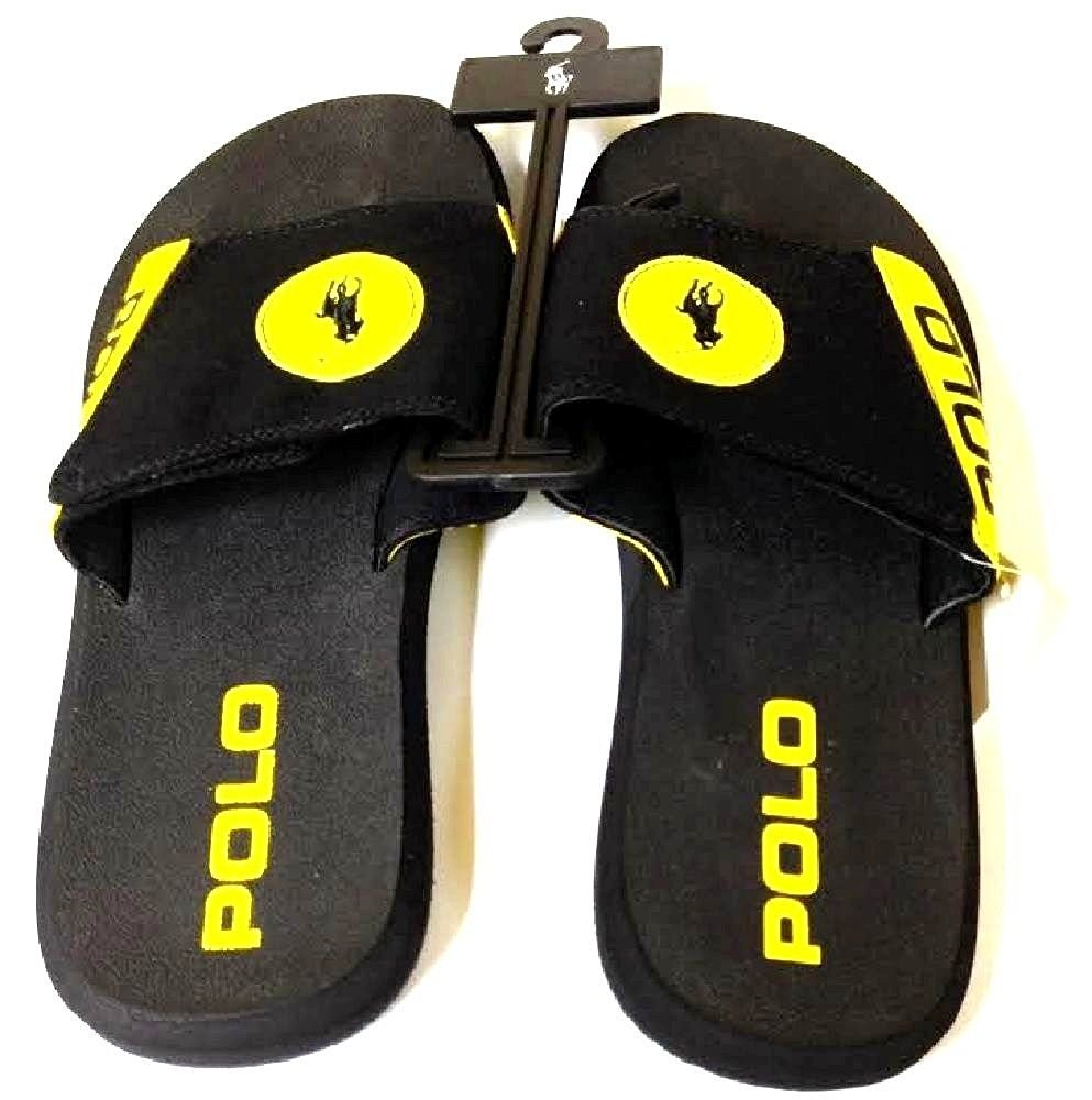 456640874a3 Get Quotations · Polo Ralph Lauren Men s Flip Flop Sandals Large Pony Logo