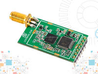 8000m long range wireless lora transceiver SX1278 remote control module semtech lora wireless serial port module