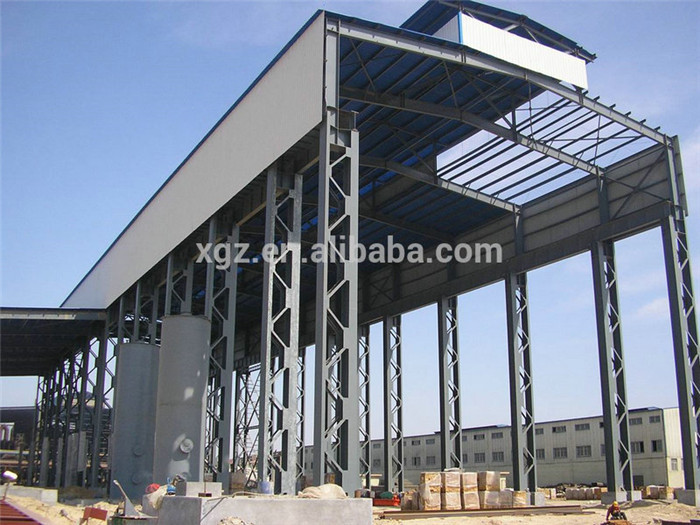 used prefabricated Steel Building for workshop