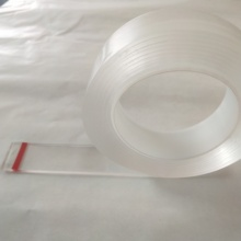 Strong adhesive high bonding clear nano suction adhesive tape