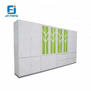 Beautiful Wall Mounted File Steel Storage Clothing Cabinet For Office Use