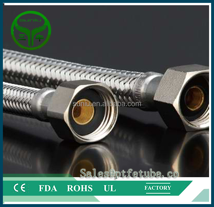 Good quality High pressure PTFE material hydraulic teflon <strong>hose</strong>