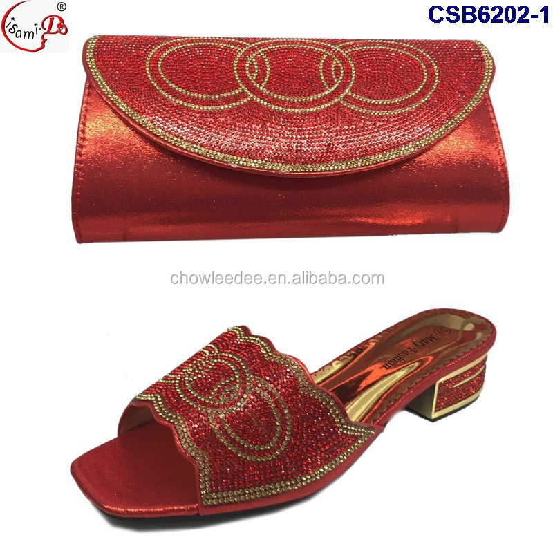 color bag and Sets african black Italian and set Bag Shoes 4 shoes CSB6202 wedding CZZ7q8pn