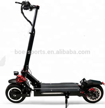11 inch off road dual motor 60v 26ah 2400w C shape air suspension shock absorber offroad electric scooter