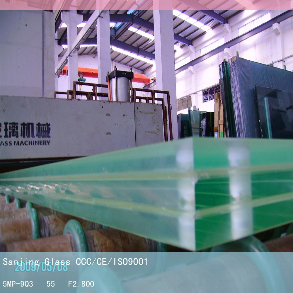 Building decoration industry usage plant laminated glass with high quality and best service