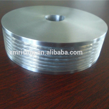 Metal Aluminum 6061 CNC Machinery Component With Thread For Germany Market