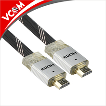 <span class=keywords><strong>25</strong></span> ft Flat Hot bán <span class=keywords><strong>HDMI</strong></span> Cable với Ethernet Ultra HD 4 k x 2 k <span class=keywords><strong>HDMI</strong></span> TO <span class=keywords><strong>HDMI</strong></span> M /M Nylon Bện