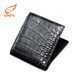 Wholesale High quality Short Crocodile Manufacturer Man Leather Wallet