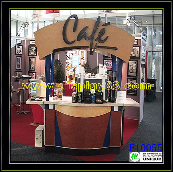 Cool POP Coffee Cart / Customize Coffee Carts For Sale