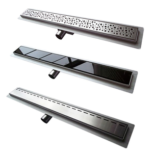 stainless steel 304/316 shower channel grate, floor drain, linear shower drain