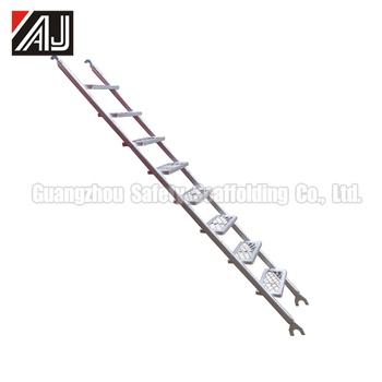 Galvanized Scaffolding Stair Ladder(Real Factory In Guangzhou,China)