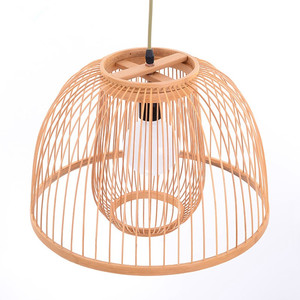New product bamboo material lampshade,bamboo handicraft use for lamp decoration