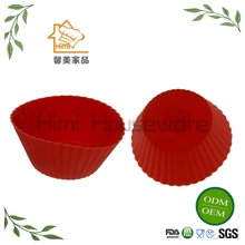 HIMI Silicone Cups Bakeware Muffin Cupcake Liners For Muffin, Gelatin, Snacks, Ice Cream Or Frozen Treats