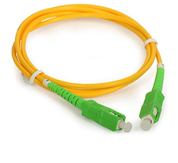 Warna Fibra Optica Patchcord Monomodo SC APC Jumper De Fibra Optica