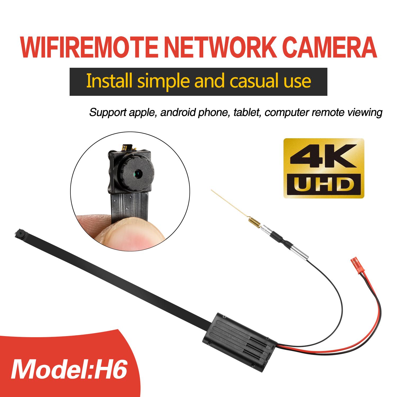 H6 Home Security Wireless Wifi Diy 4k Hidden Camera Module Hd 1080p Ip Camera Buy Wireless 1080p Hd Ip Cctv Security Camera Wireless Hidden Ip