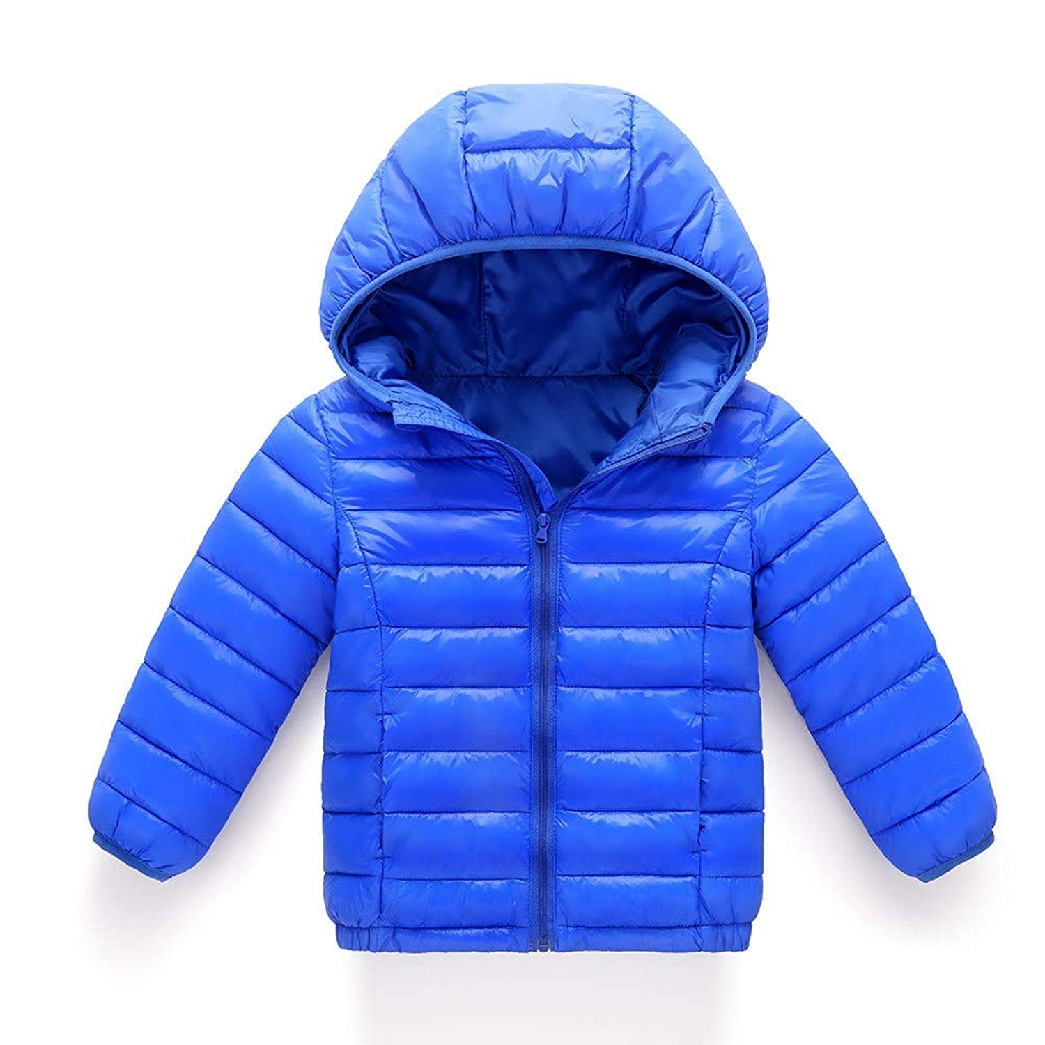 87f56e7fc Get Quotations · Outtop(TM) Baby Boys Girls Down Jacket Coats Child Kids  Autumn Winter Cotton Hooded
