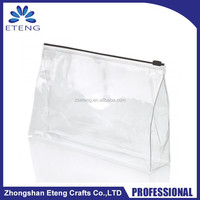 Popular custom printed ziplock clear pvc bag for promotion sale