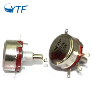 Long Shaft Single Turn WTH118 6.8k Carbon Film Potentiometer