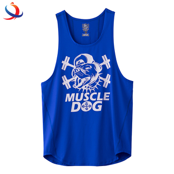 Mens Workout Clothes Sport Shirts Gym Wear For Men Tank Top