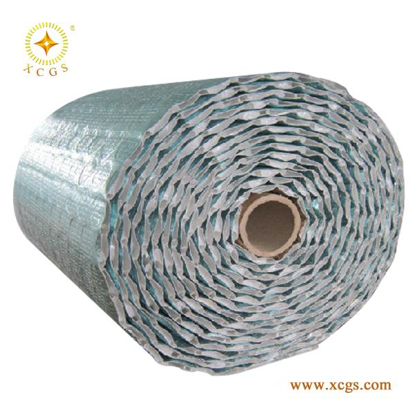Industrial sheds insulation aluminum foil bubble for Fireproof vapor barrier