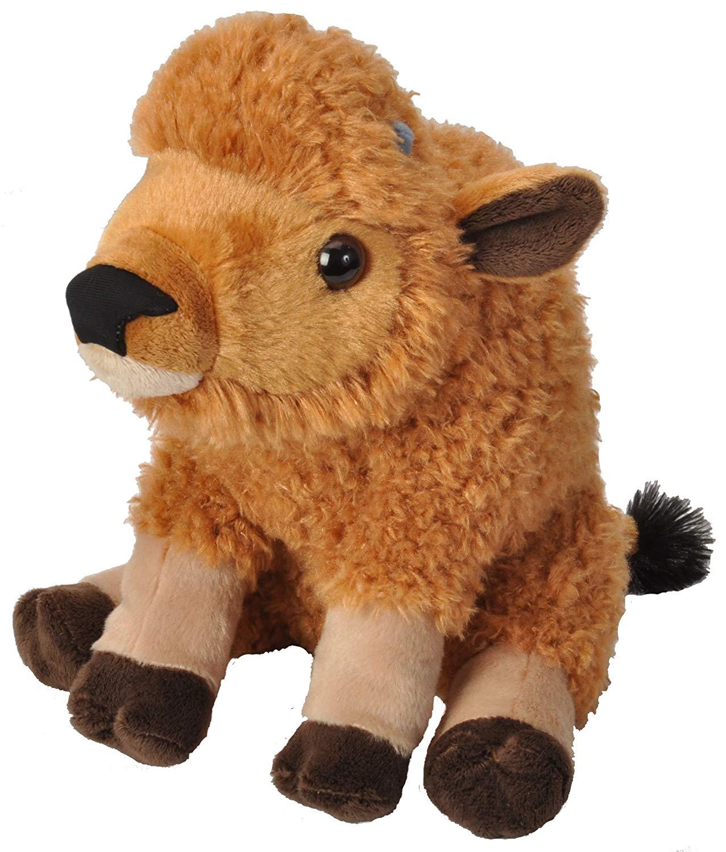 Wild Republic Bison Calf Plush, Stuffed Animal , Plush Toy, Gifts for Kids, Cuddlekins 12 Inches