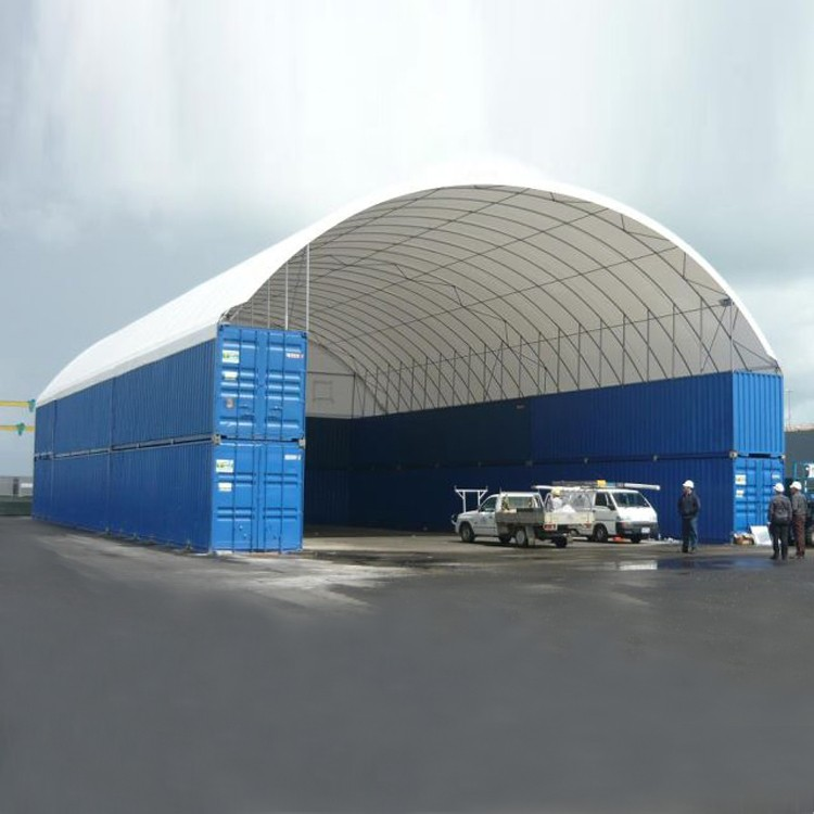Sea Container Shelters : Big dome prefab houses shipping container shelter buy