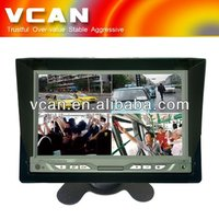 7 Inch TFT LCD quad split monitor TM-7008Q-7