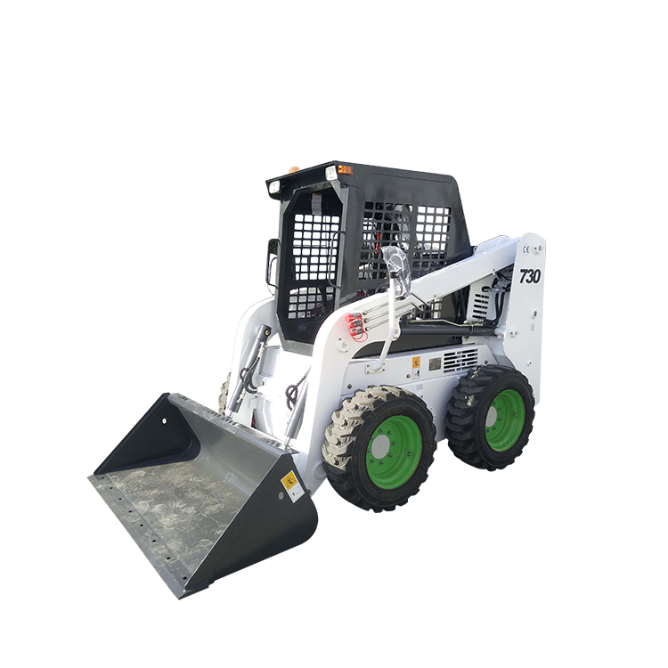 WECAN cheap mini track Chinese skid steer loader