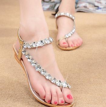 7626cb0bd3be8 zm10171a 2017 summer bohemian ladies shoes sandals cheap women shoes