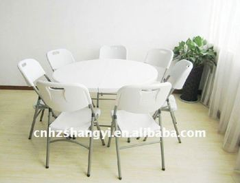 6 Seater Plastic Folding Dining Table