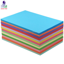 Free sample!Wholesale 80g a4 color copy paper(10 colors mix)