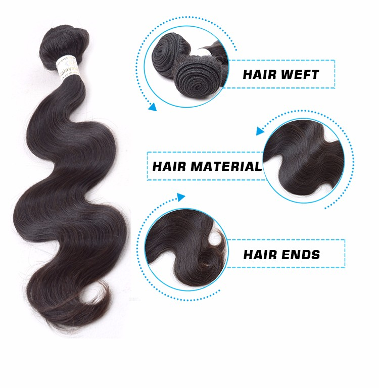 Lucky !!! particular wavy water wave brazilian hair extension, new design waterproof hair extensions