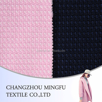 Wool Polyester Acrylic Blend Fabric
