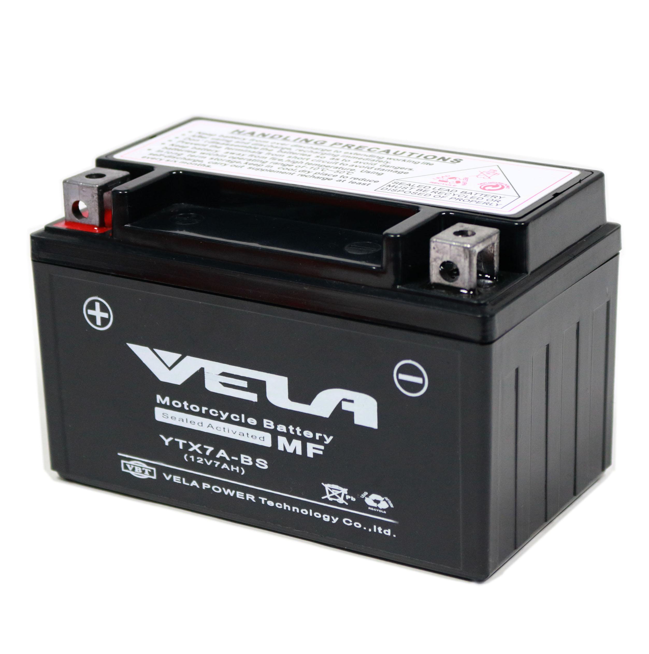 YTX7A-BS Baterai Moto 12 V 7ah Motor Baterai Dana Baterai Isi Ulang