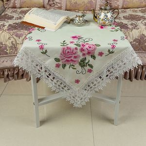 New products unique design useful cross stitch table cloth