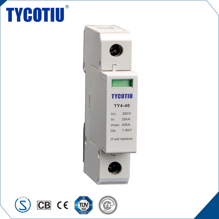 TYCOTIU High Demand Export Products 35mm Din rail Class II Type 2 Surge Protective Device