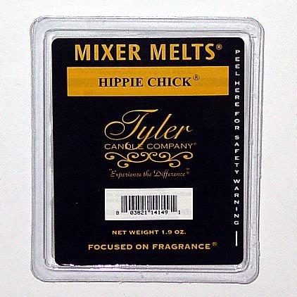 Tyler Candle Mixer Melts Wax Potpourri Set of 4 - Hippie Chick