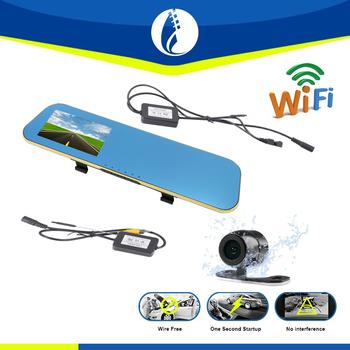Wiring Free Easy Installation Wifi Wireless 4.3 Inch Car Dvr Dash ...